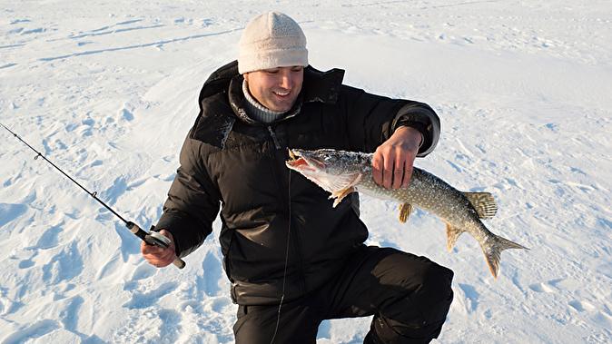 рыбалка в марте на озере
