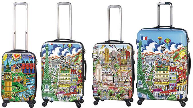 Дорожный чемодан с бьюти кейсом купить