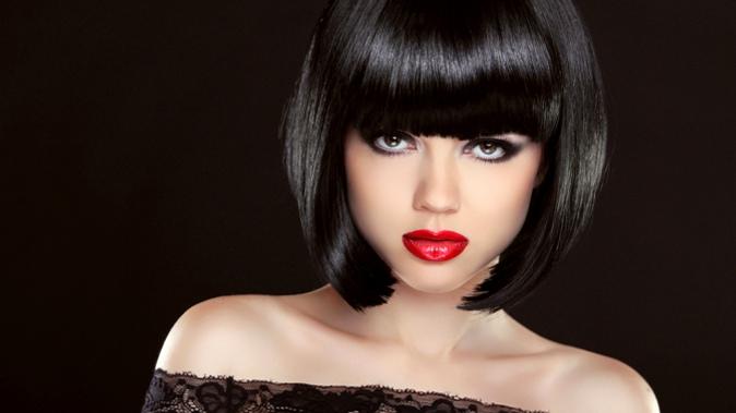 Фото девушек брюнеток со стрижками