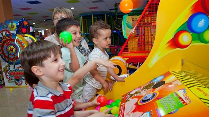 детский коммерческий сенсорный игровой автомат Черногории