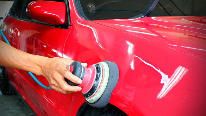Восстановление лакового покрытия автомобиля