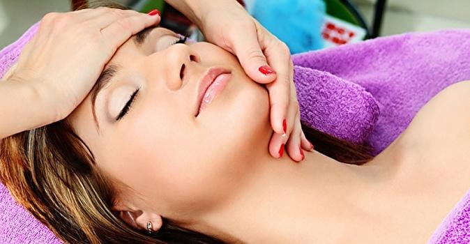 Ручной массаж для роста волос