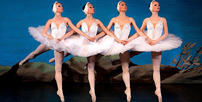 белый балет видео