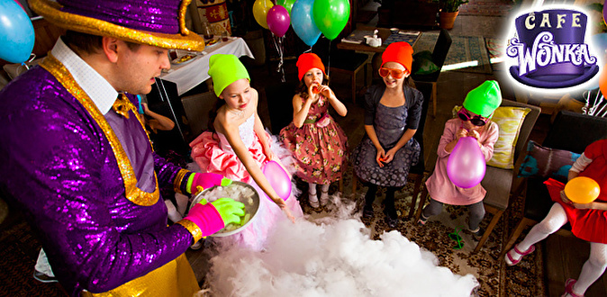 Детский праздник с вилли вонка кексы на детский праздник