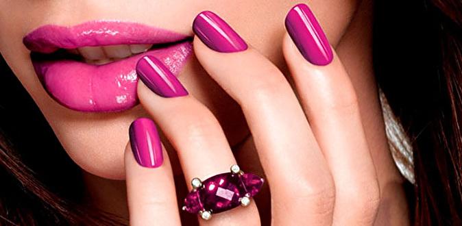 Лиловые Ногти Дизайн Фото