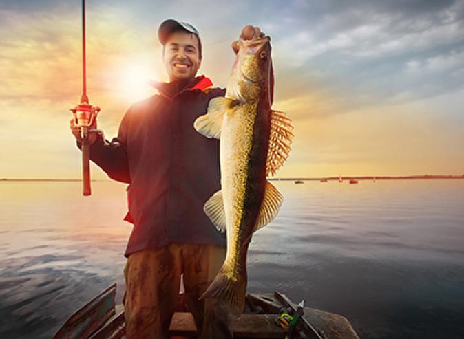 когда рыбалка в удовольствие